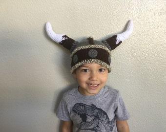 Horned Viking or Dwarf Beanie
