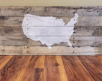 United States Pallet Map
