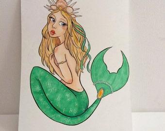 Blonde Mermaid