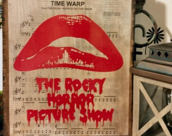 Rocky Horror Picture Show Music Sign
