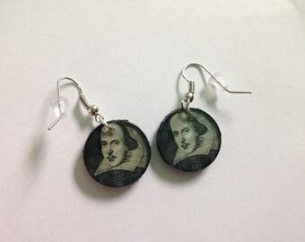 William Shakespeare Earrings