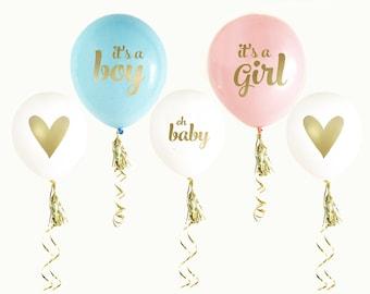 Baby Shower Gender Reveal Balloons