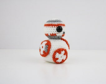 Made to Order - Kawaii Star Wars Amigurumi Doll - Crochet - BB-8