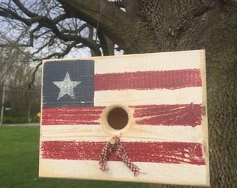 Flag Birdhouse