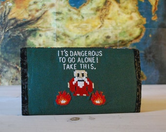 It's Dangerous Clutch Wallet (Made to Order)
