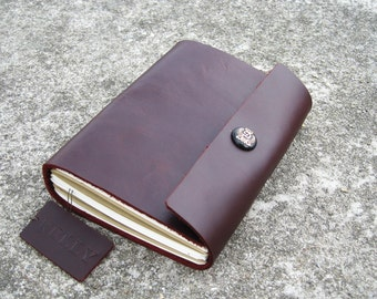 Leather Journal leather Notebook leather sketchbook travel journal