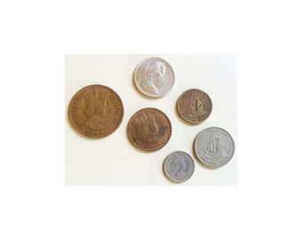 British Caribbean Territory Easter Group & Bahamas Coins
