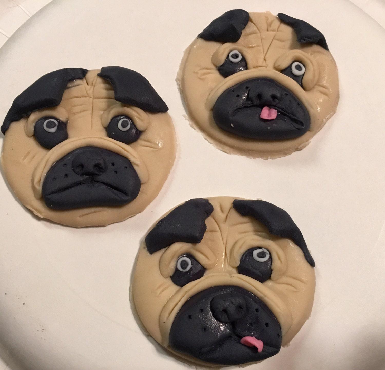 Pug Cake Toppers Australia