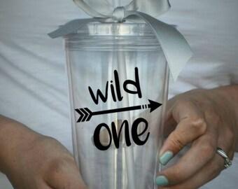 Wild One Clear Tumbler