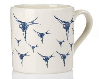 Swallows Earthenware Mug