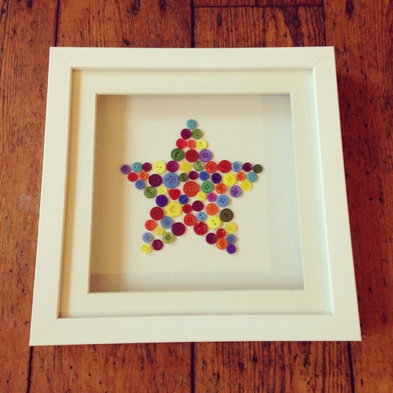 Button Star Frame