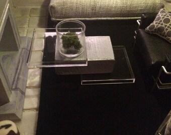 Modern Dollhouse coffee table 1:12