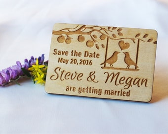 Save the date invitation, Save the date rustic, Save the date magnet, Save the date wedding, Save the date magnet rustic, Wood save the date