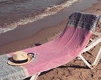 Beach bag and beach towel