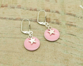 Kit / Diy earrings ' silver ear and taste buds