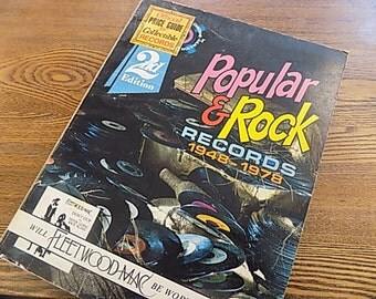 Vintage Record Price Book - Popular and Rock Records
