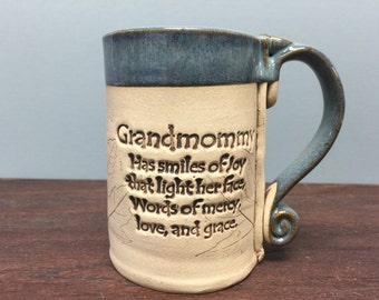 Grandmommy stoneware mug