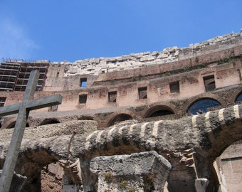 Faith in the Colosseum