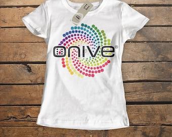 """Onive """"Rainbow"""" White Tshirt"""