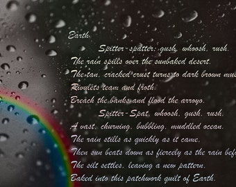 Custom Poem and Photograph
