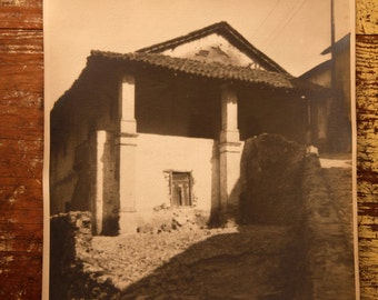 Set of four photographs origianles from the village of Taxco, Guerrero, Mexico 1940