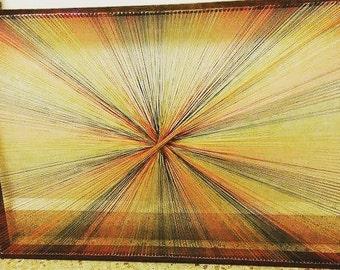 String Art Wood Frame