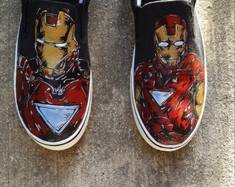 Custom Superhero Shoes