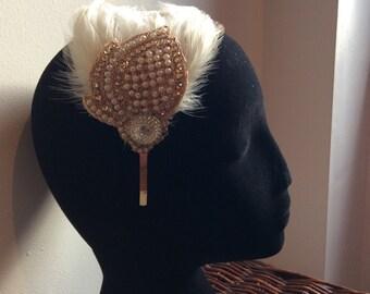 Feathers & Vintage - #3 Hairband