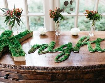 Custom Moss Word/Name