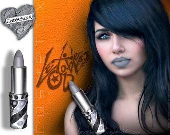 Grey Lipstick by Lex Gable Cosmetix Shade 'Cinder Block'