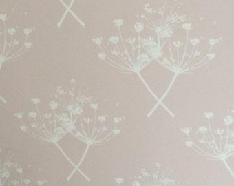 Queen Anne's Lace bespoke Wallpaper