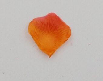Sunset rose petals (100stuks)