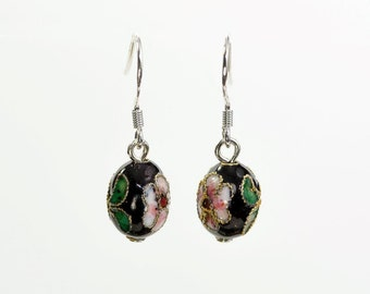 Baby Cloisonne Earrings