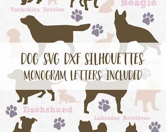 Dog Svg Monogram Frames Dogs Svg Animal Svg Monogram Svg Dog Silhouette  Silhouette Cricut Svg Files Svg Design svg files svg vinyl design
