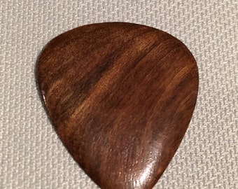 Wood Guitar Pick, Walnut
