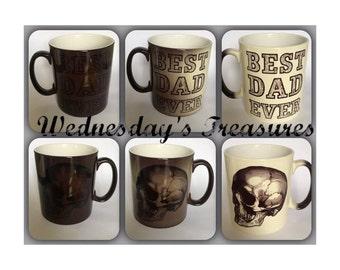 Best Dad Ever Skull Mug