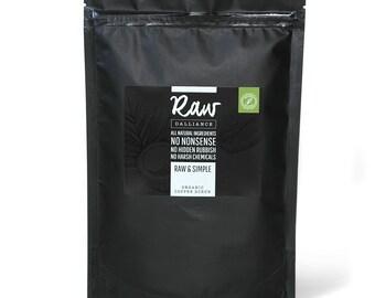 Organic Coconut Coffee Scrub | Body Scrub | Raw and Simple | Less is more coconut coffee scrub | Raw Dalliance
