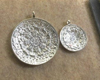 1pc Original Solid Chinese Silver Pendant