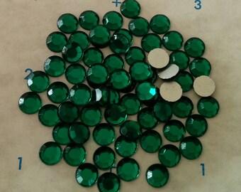 Emerald Swarovski Crystals, Half-gross