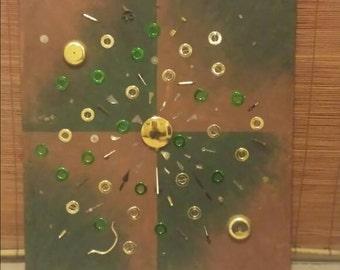 Clock Parts Painting