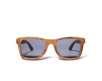 Ofey & Co. Black Walnut handcrafted wooden sunglasses