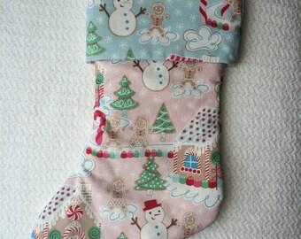 Gingerbread Crush Stocking