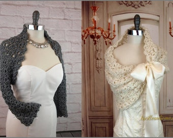 Wedding Crochet Pattern Set Bridal Shrug And Bridesmaids Shawl Crochet Wedding Shrug Bridesmaids Stole Wedding Crochet Pattern Easy Crochet