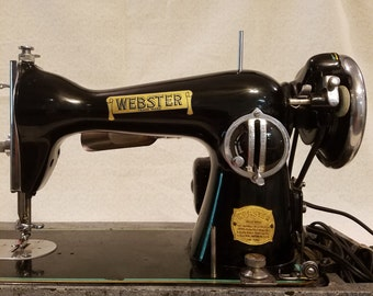 1940s Webster Sewing Machine