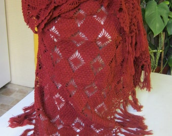 Scarf women knitted