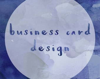 Custom Business/Loyalty Card Design