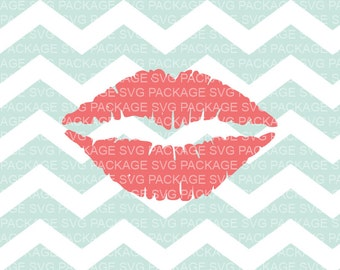 SVG Clipart, Pink Lips Svg, Pink Lips Clipart SVG, INSTANT download, Svg Cutting File, Svg Design, Clipart Vector File, Cutting Machine