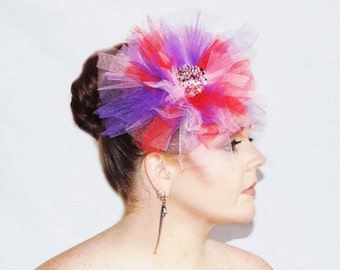 Candy Floss - Saraden Designs Millinery