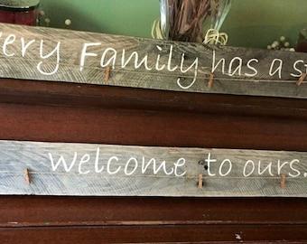 Every family has a story... Wall decor
