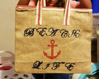Days in the Waves Beach Tote